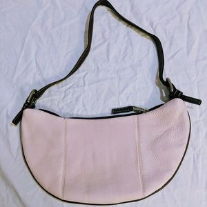 Latico pink leather shoulder purse